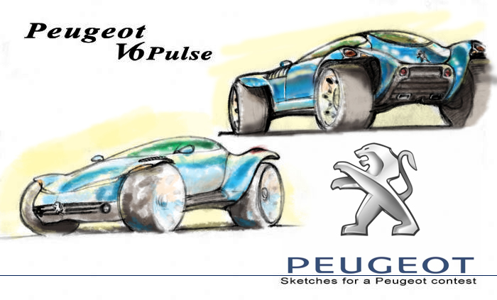 Peugeot Pulse coloured.